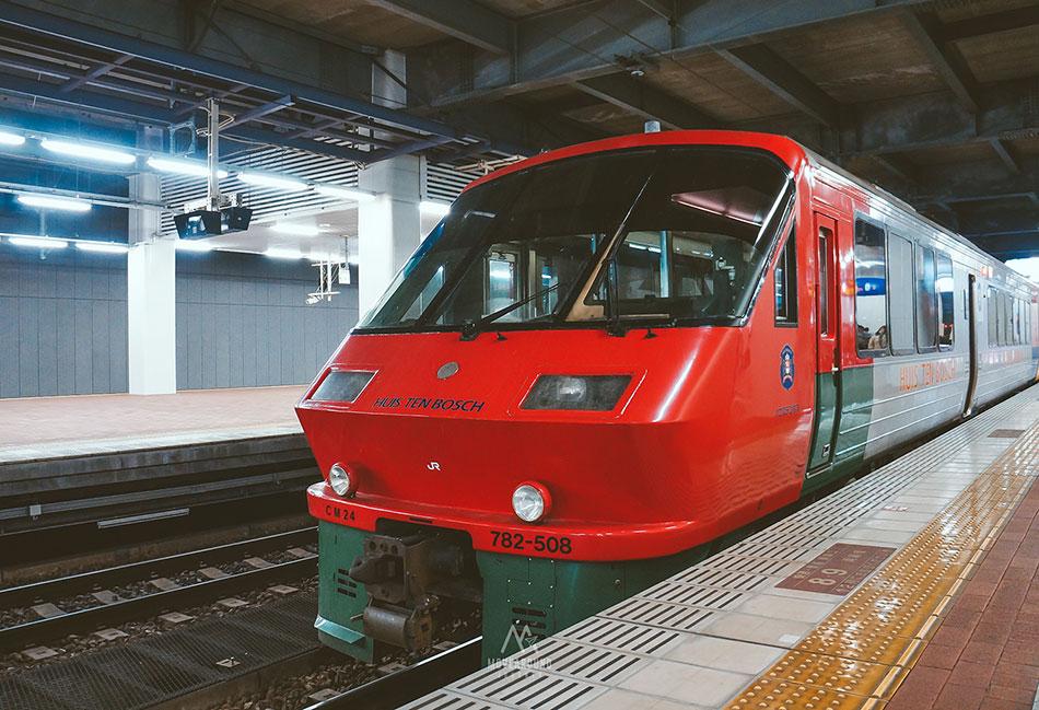 รถไฟ-2 Huis Ten Bosch