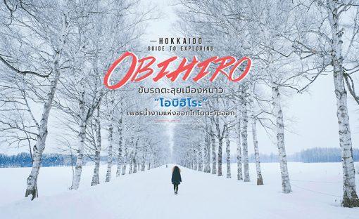 ขับรถเที่ยวโอบิฮิโระ / Road trip in obihiro Japan