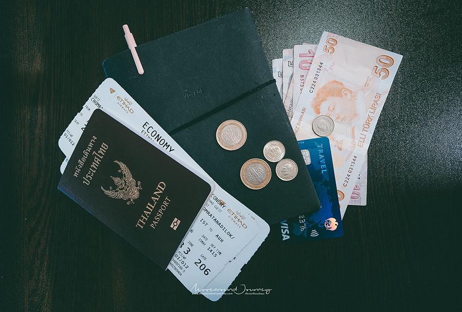 รีวิวเที่ยวตุรกีด้วยตัวเอง สกุลเงิน Turkey