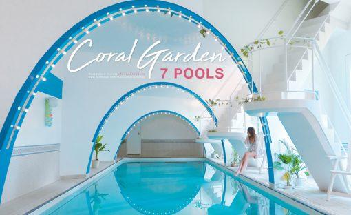 ที่พักโอกินาว่า coral gaden 7 Pools okinawa
