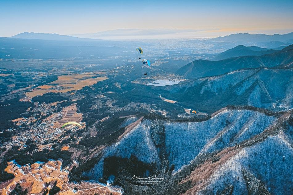 paragliding mount fuji, Fujinomiya, Shizuoka