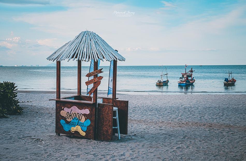 Skoop Beach Cafe, คาเฟ่หัวหิน