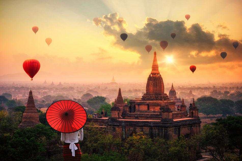 12 วัดในพม่า
