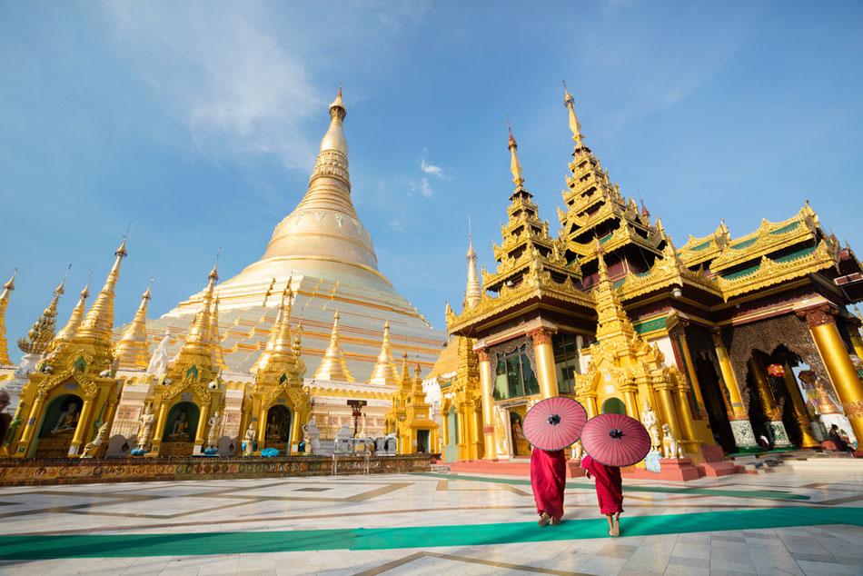 เจดีย์ชเวดากอง (Shwedagon)