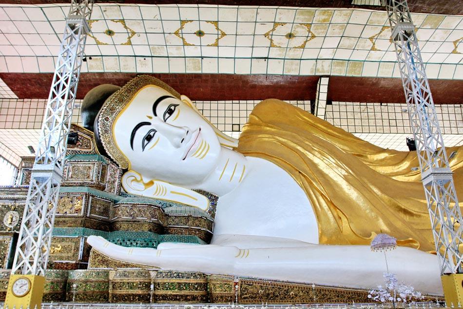 พระพุทธไสยาสน์ชเวตาเลียว (Shwethalyaung Buddha)